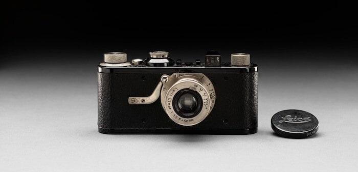 First 35mm Leica camera.
