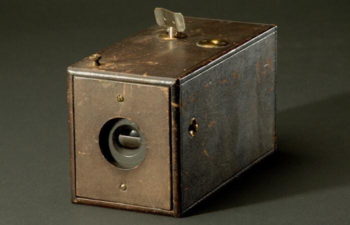 Original Kodak handheld camera.