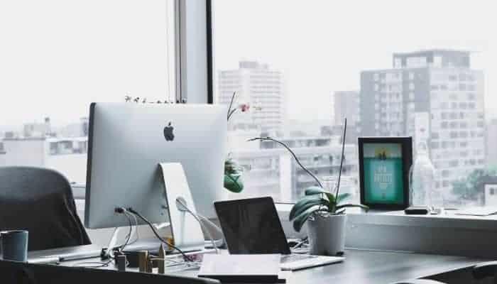 An officespace.