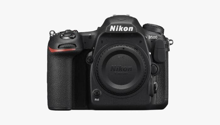 Nikon camera without the lens.