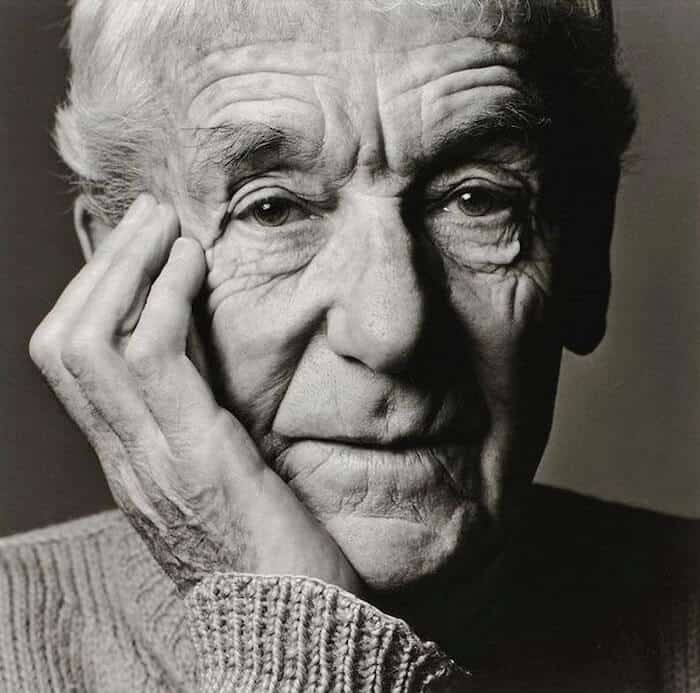 Grayscale headshot of Jacques Henri Lartigue.
