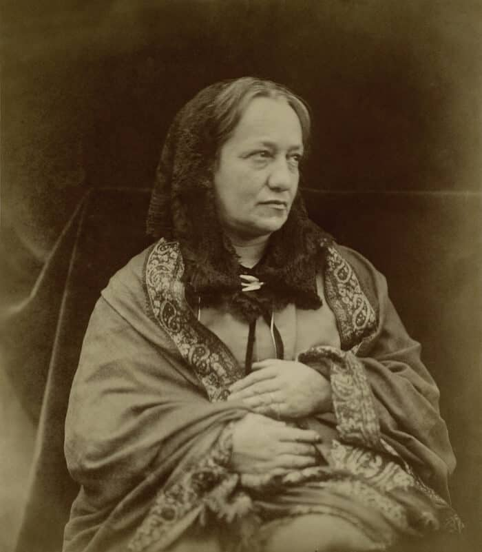 Portrait of Julia Margaret Cameron.