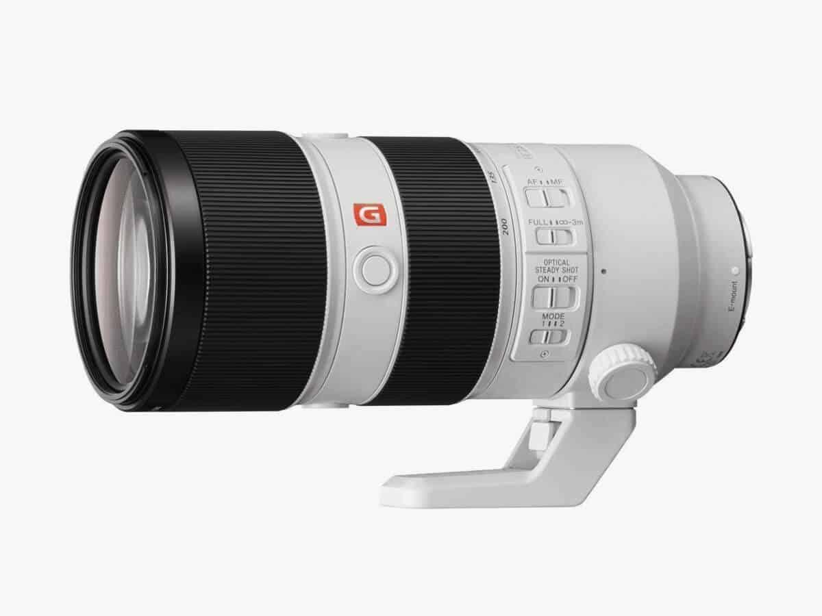 Sony telephoto lens.