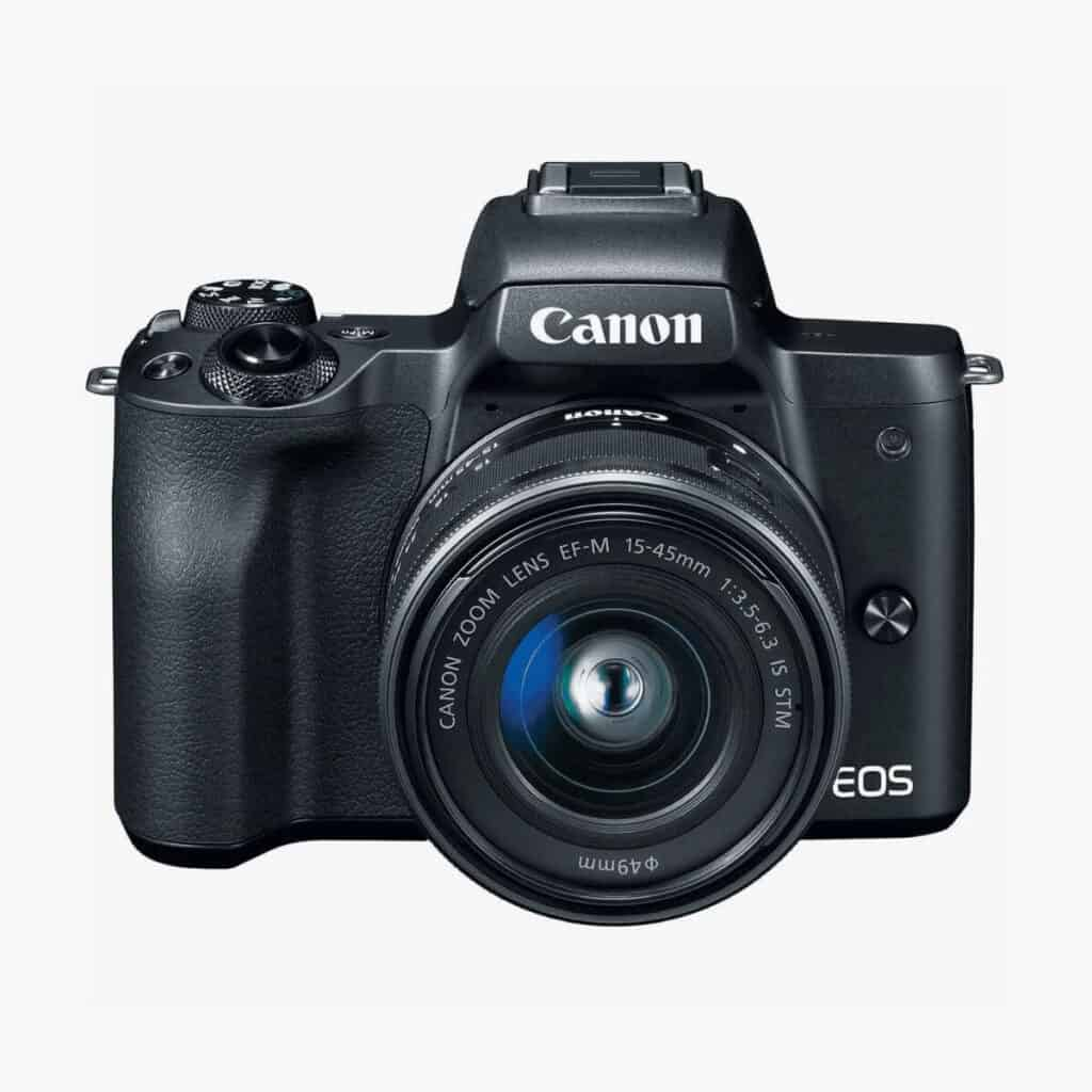 Canon EOS M50 camera.