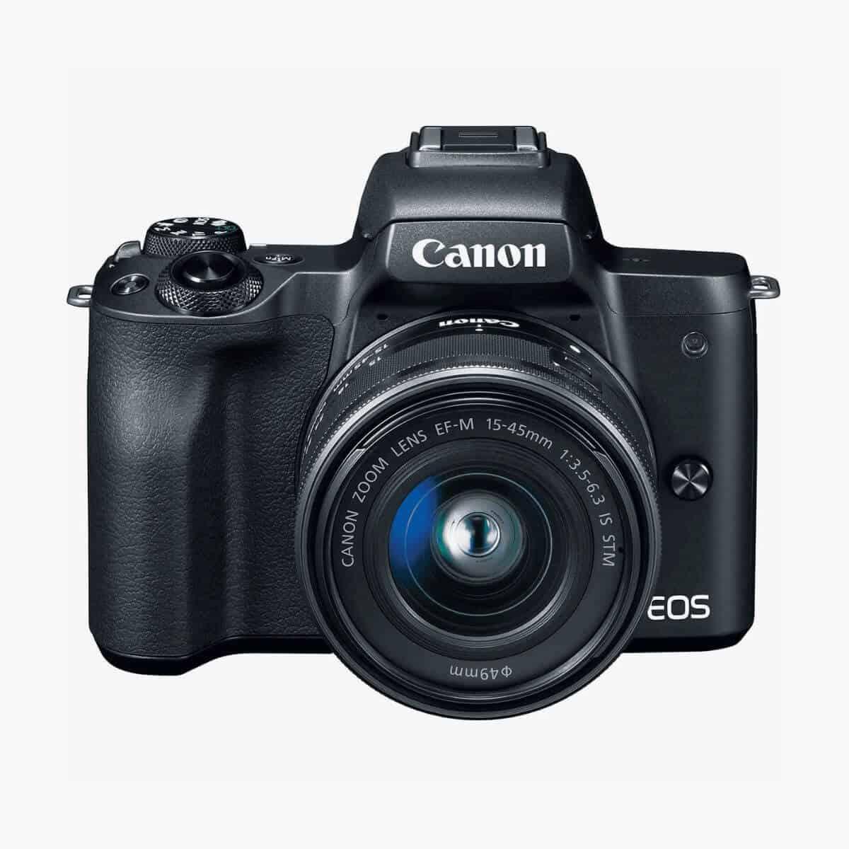 Canon EOS M50 camera.