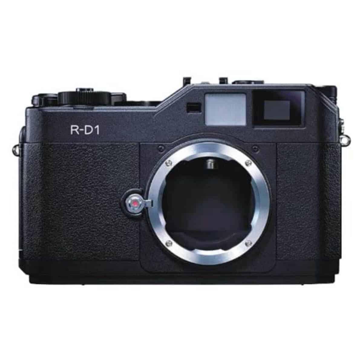 Epson R-D1 digital rangefinder camera.