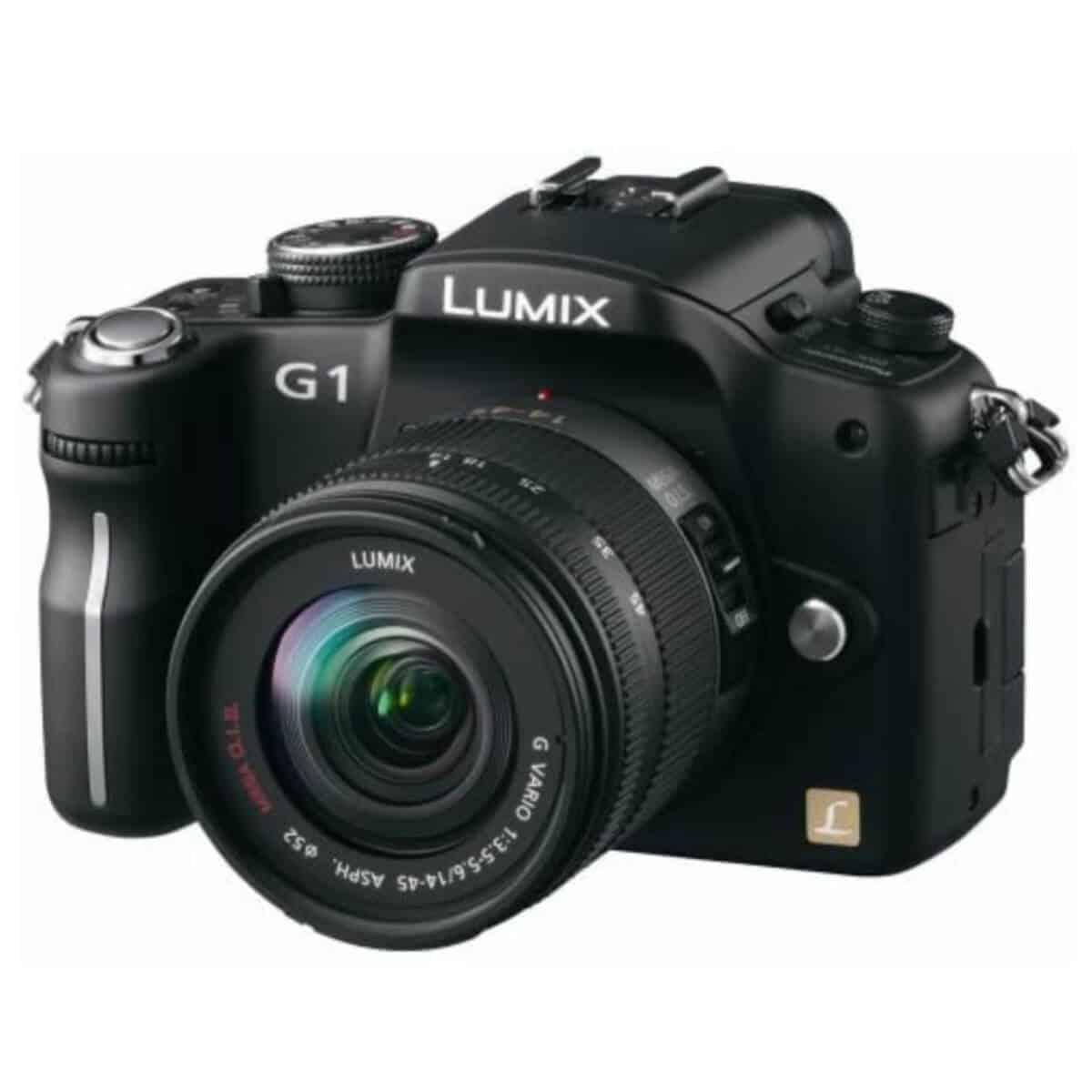 Panasonic DMC-G1 mirrorless camera.