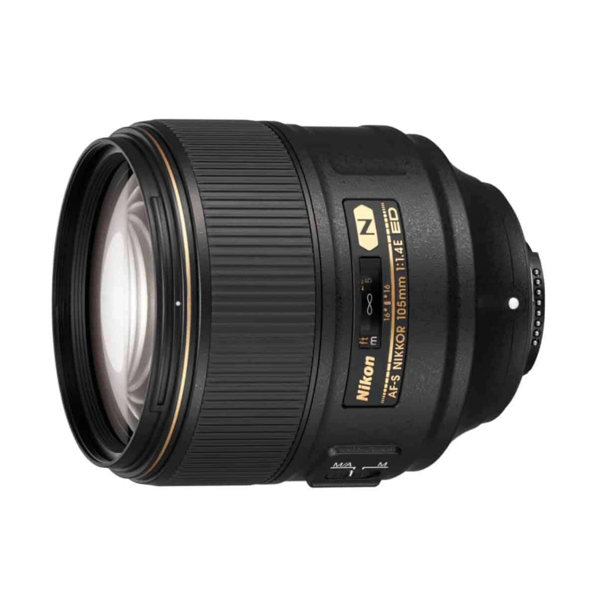 Nikon 105mm lens.