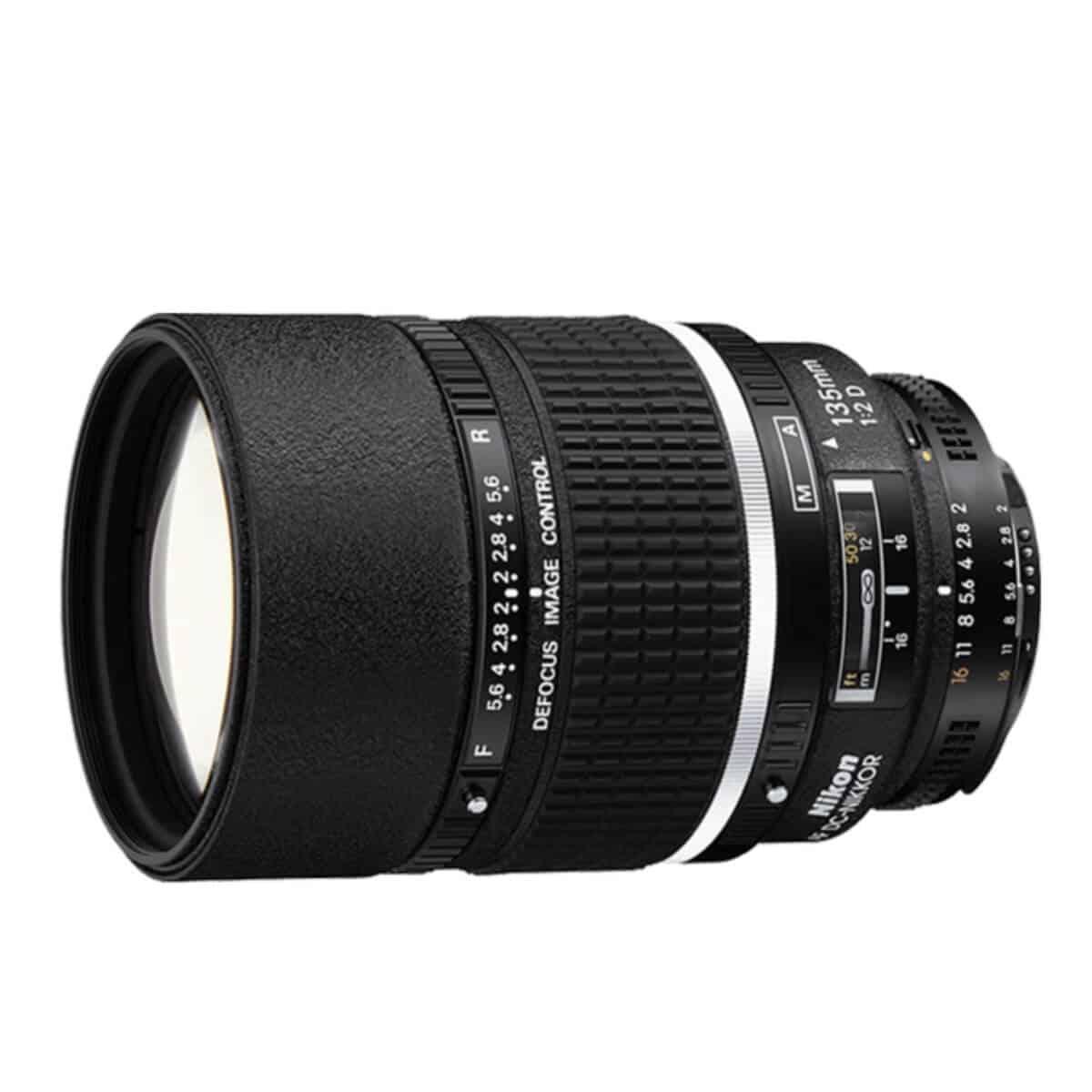 Nikon 135mm lens.
