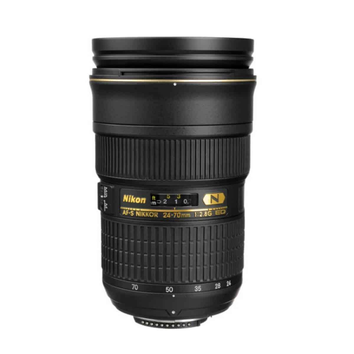 Nikon 24 to 70mm lens.