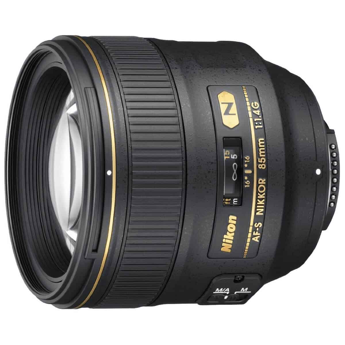 Nikon 85mm lens.