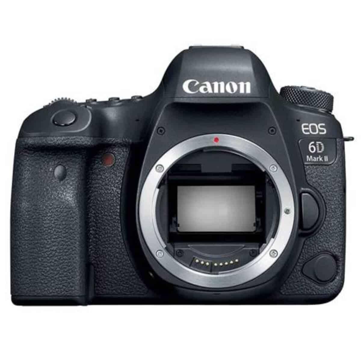 Canon 6D Mark II camera.