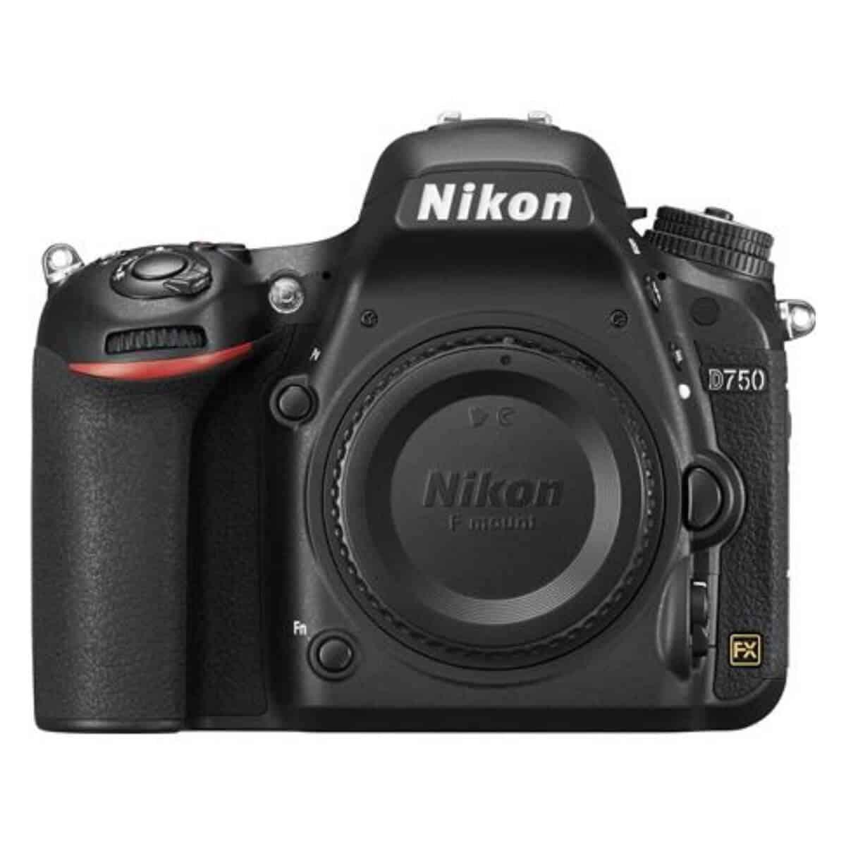 Nikon D750 camera.