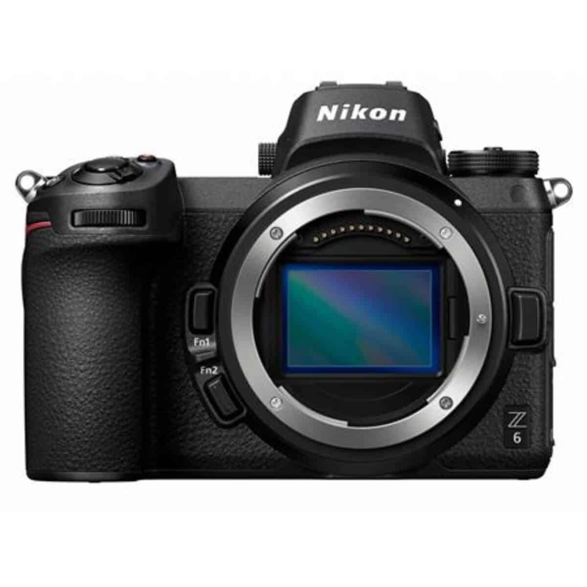 Nikon Z6 camera without the lens.