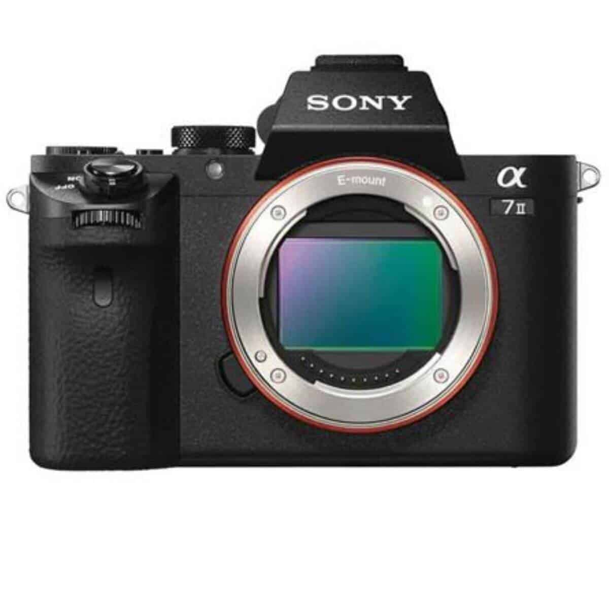 Sony a7 II camera.