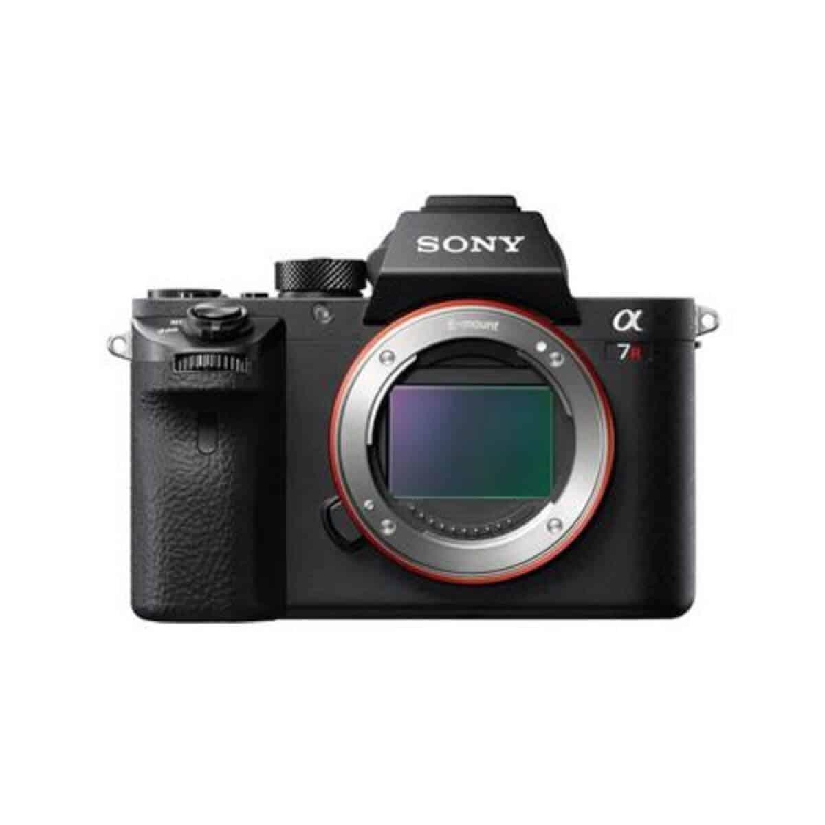 Sony a7r II camera.