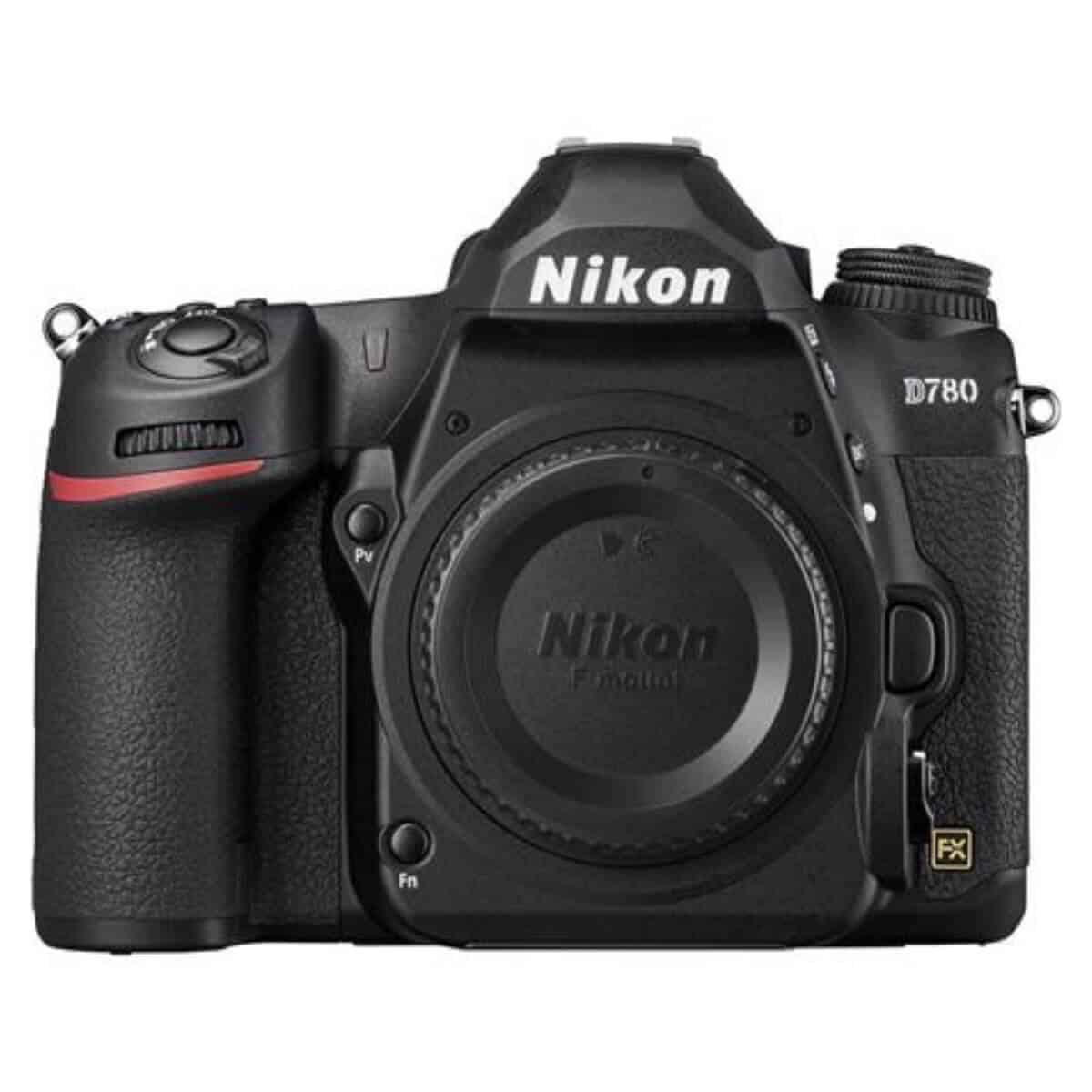Nikon D780 camera without the lens.