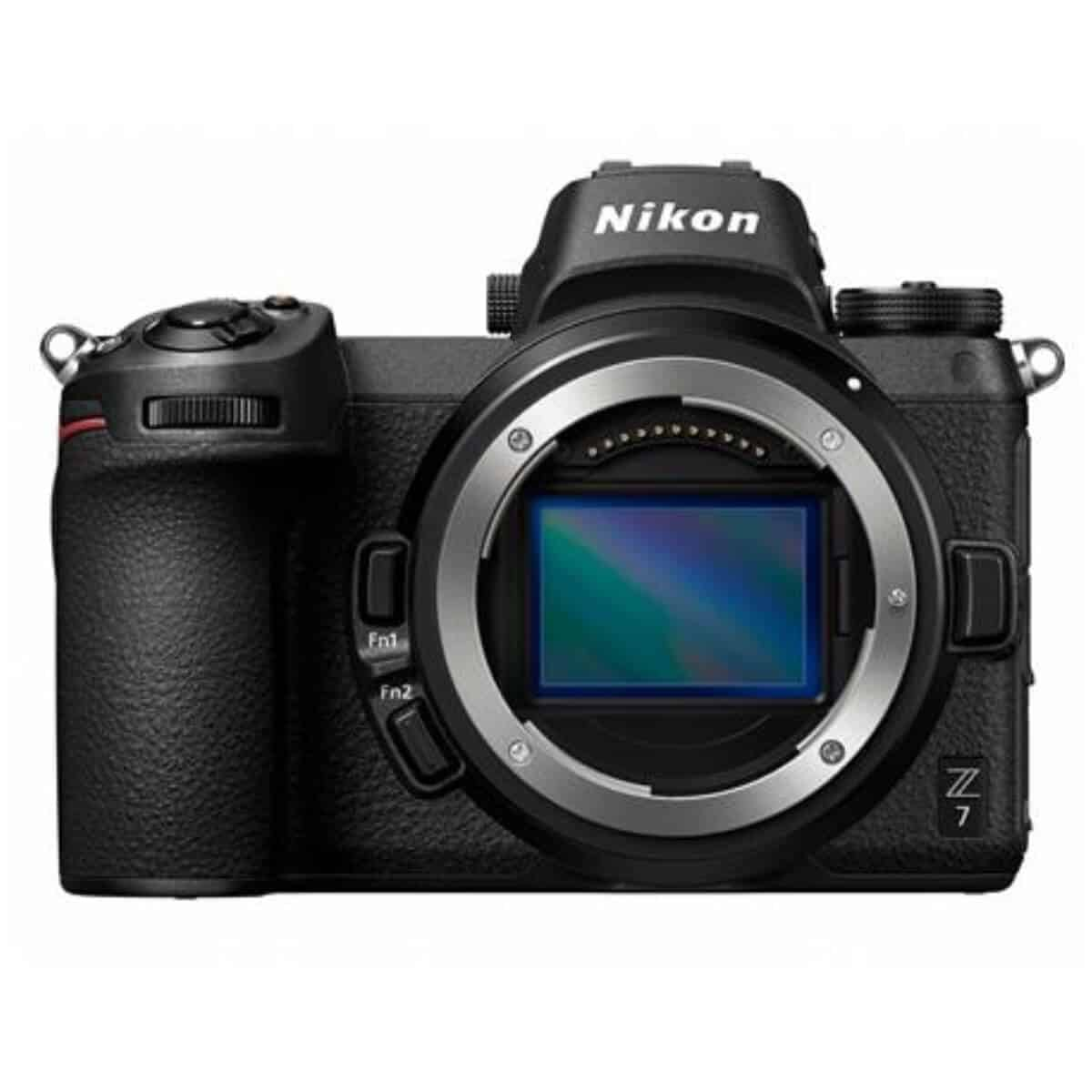 Nikon Z7 camera without the lens.