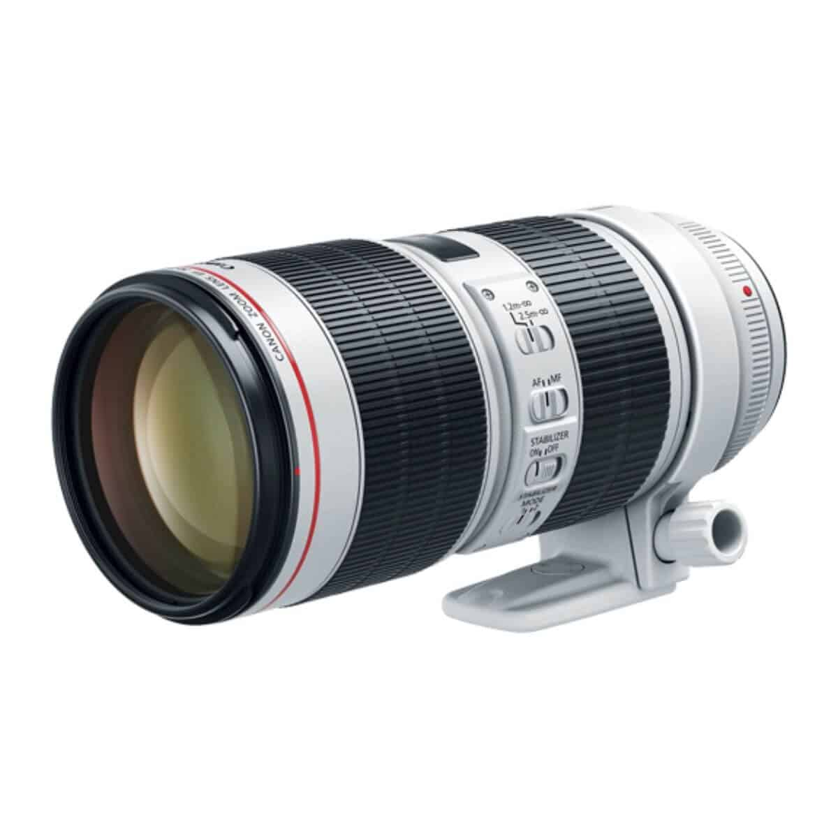 Canon 70-200mm f/2.8 lens.