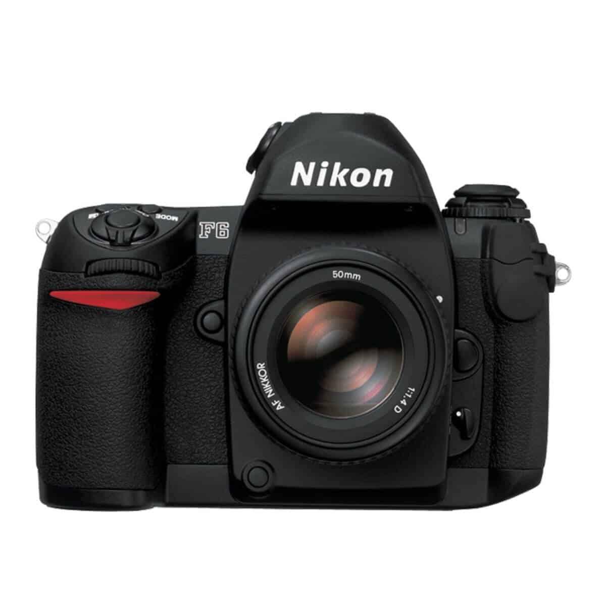 Nikon F6 camera.