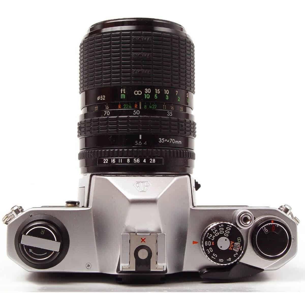 Pentax K1000 camera.