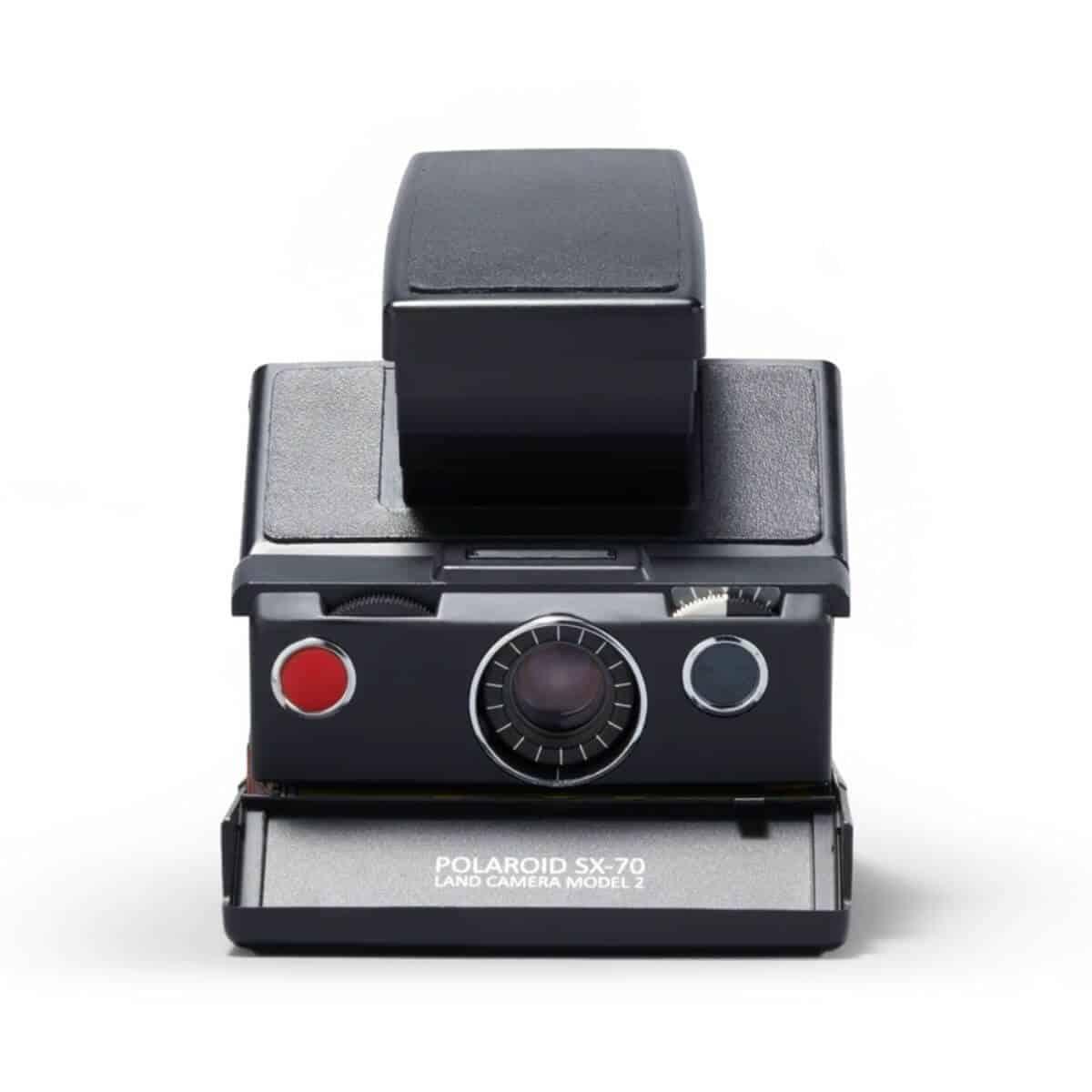 Polaroid SX-70 instant film camera.