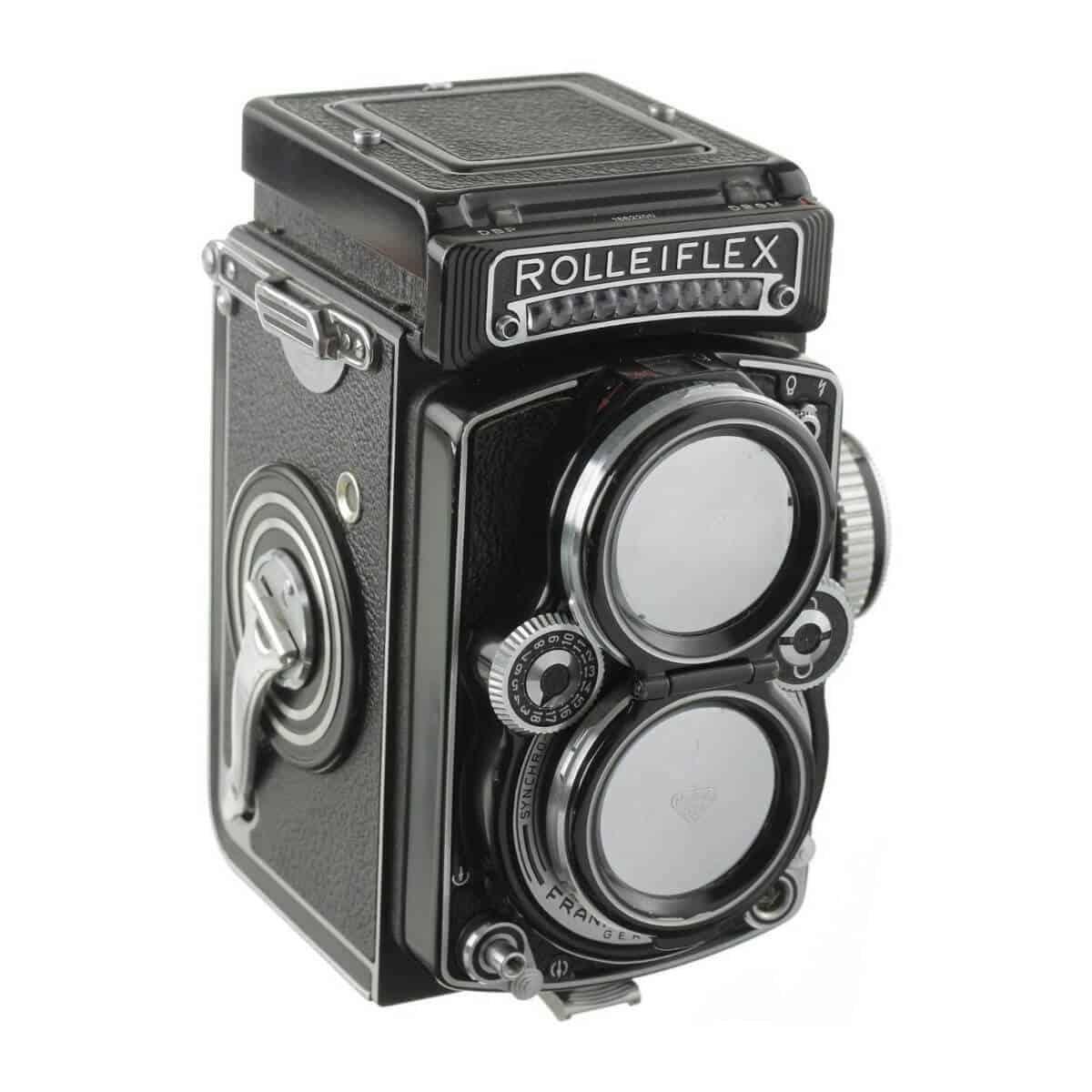 Rolleiflex 2.8 camera.