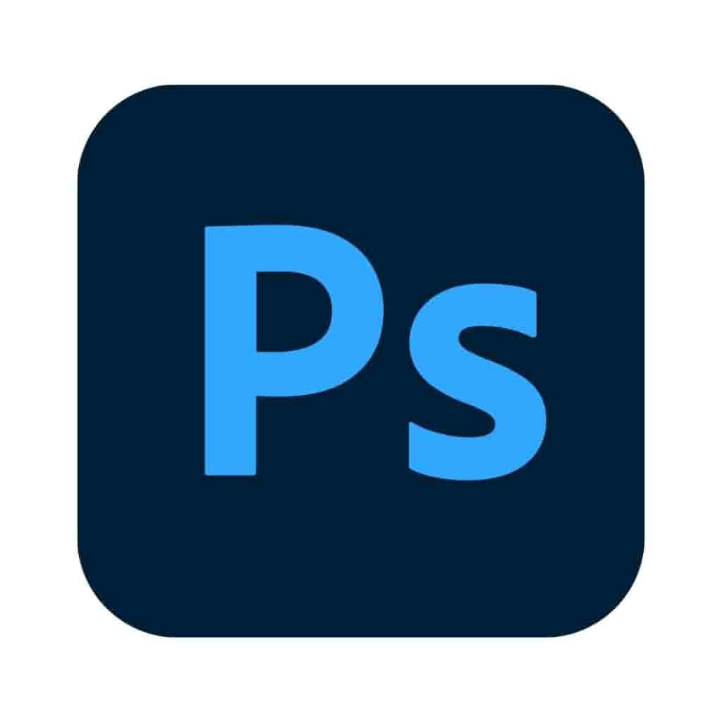 Adobe Photoshop logo.