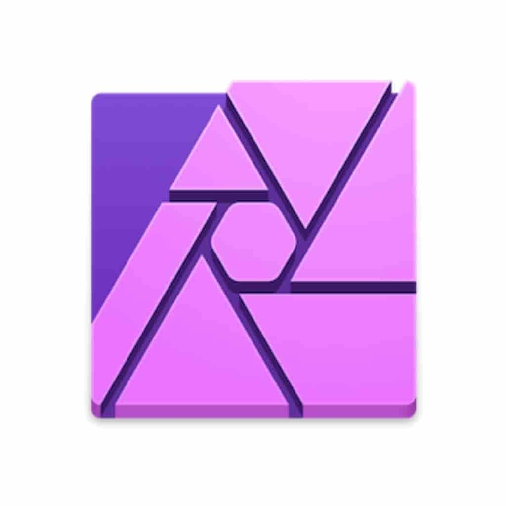 Affinity Photo logo.