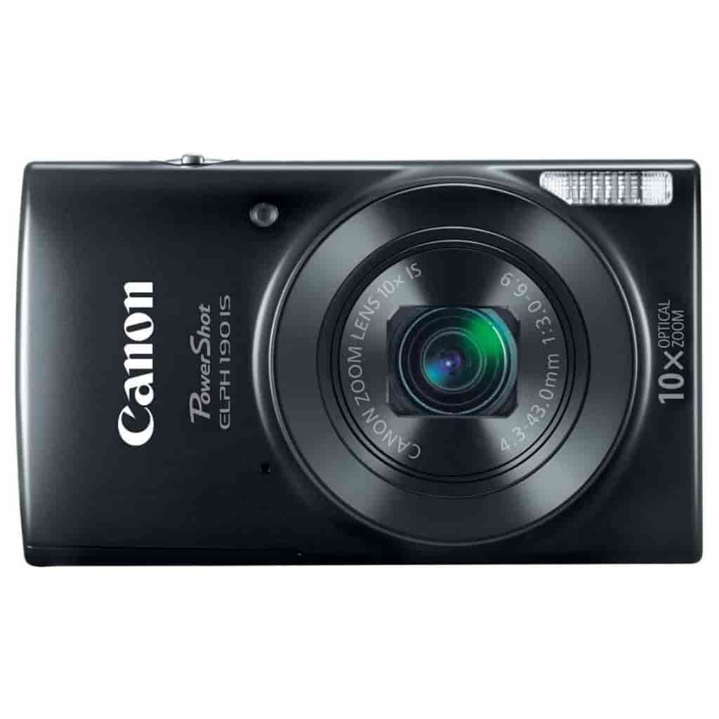 Canon Elph 190 IS camera.