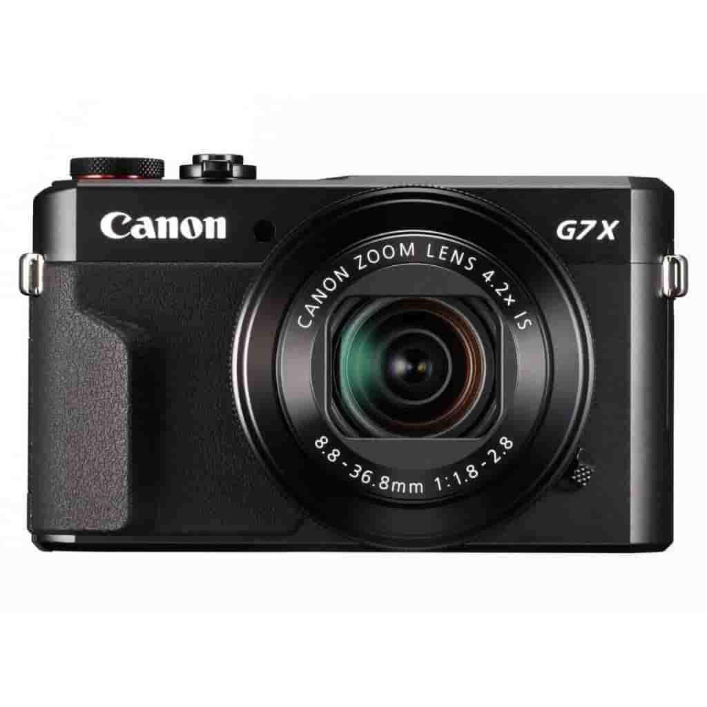 Canon G7 X Mark II camera.