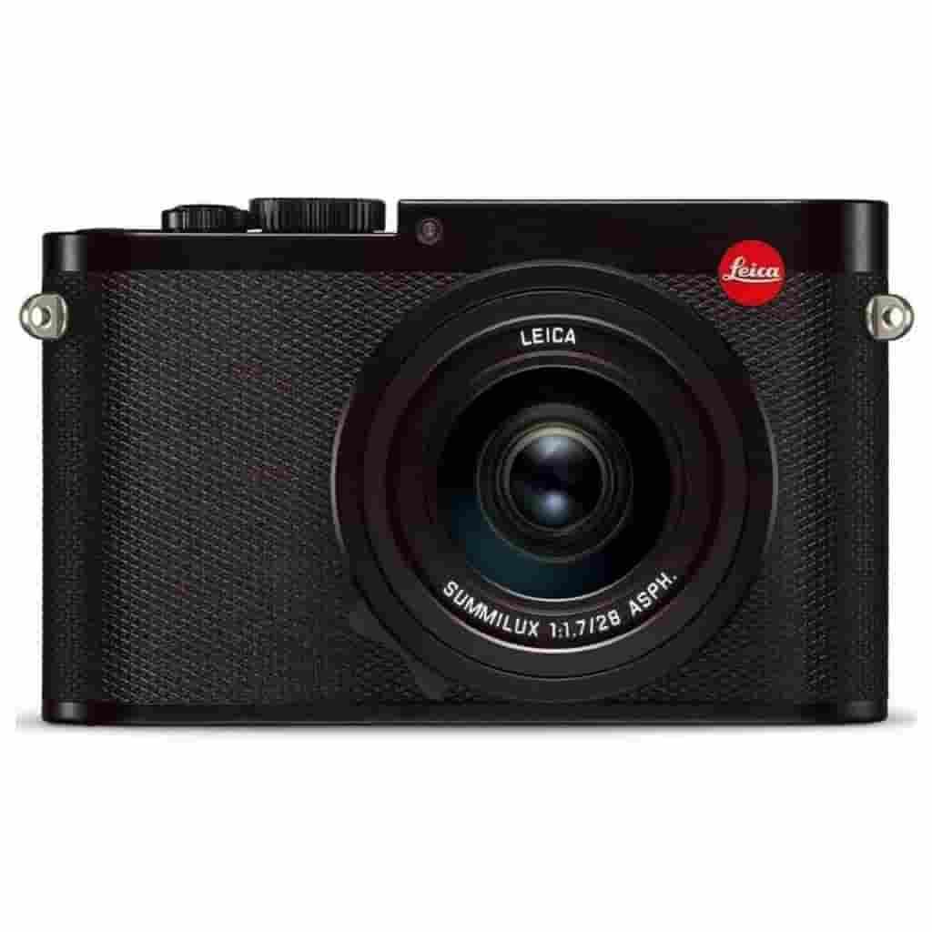 Black Leica Q camera.