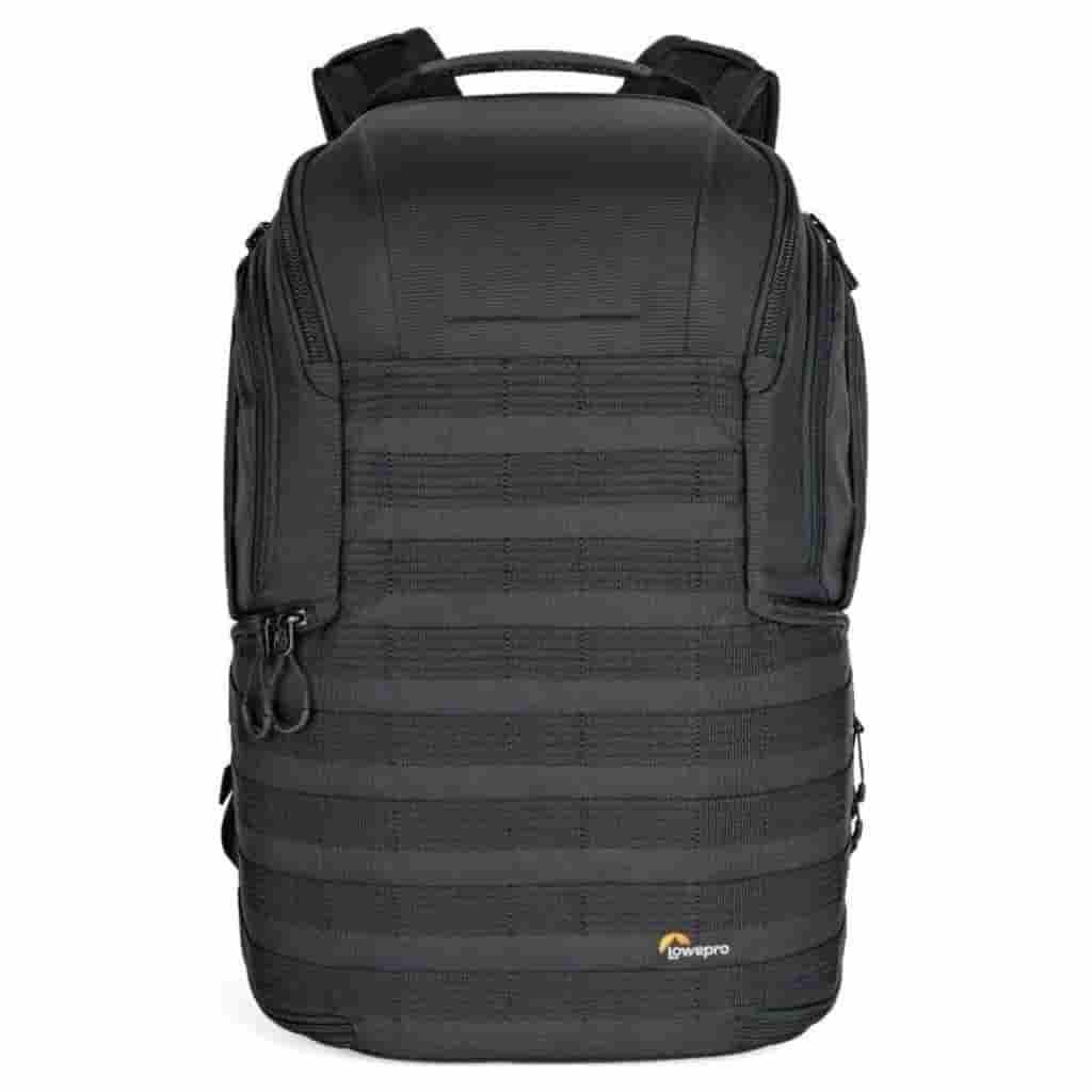 Black Lowepro ProTactic 450 AW II backpack.