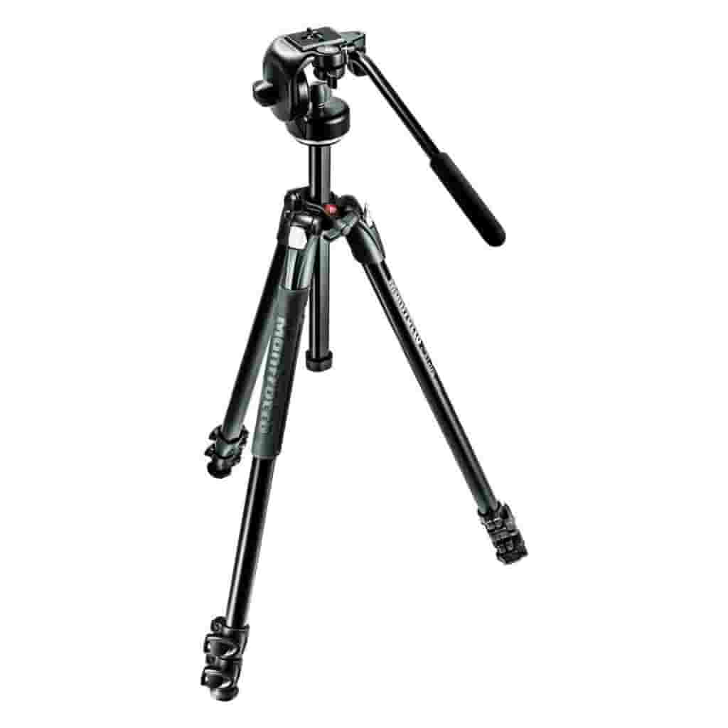 Manfrotto 290 X tripod.