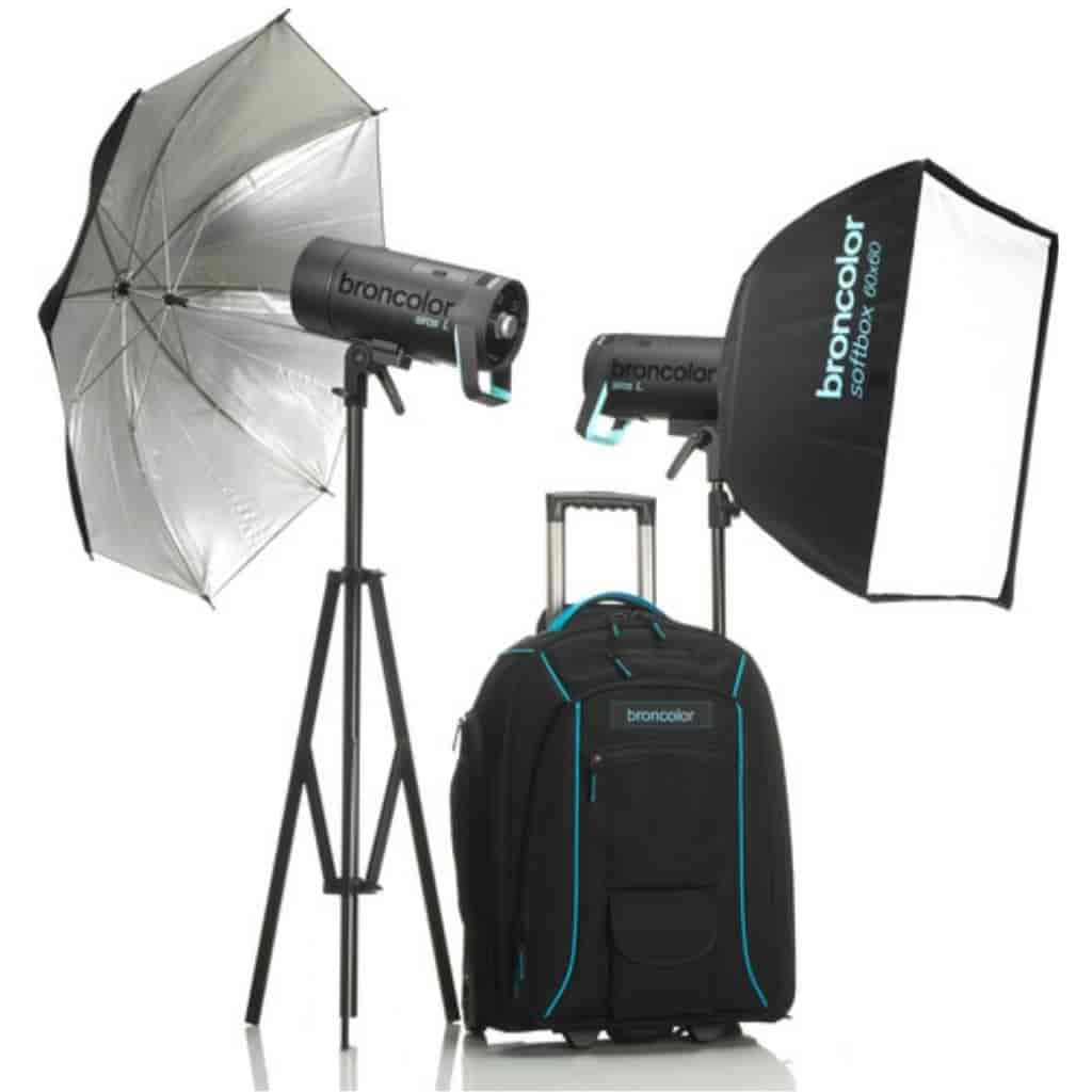 Broncolor photography light kit.
