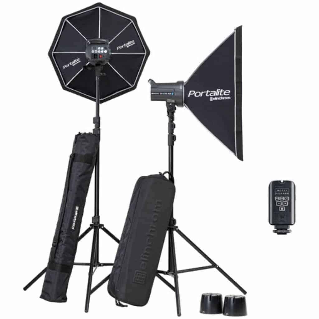 Elinchrom D-Lite kit for photography.