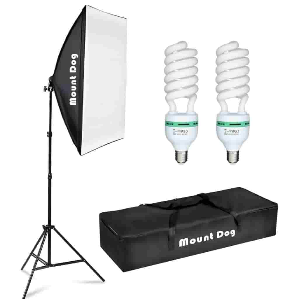 Mountdog photography light kit.