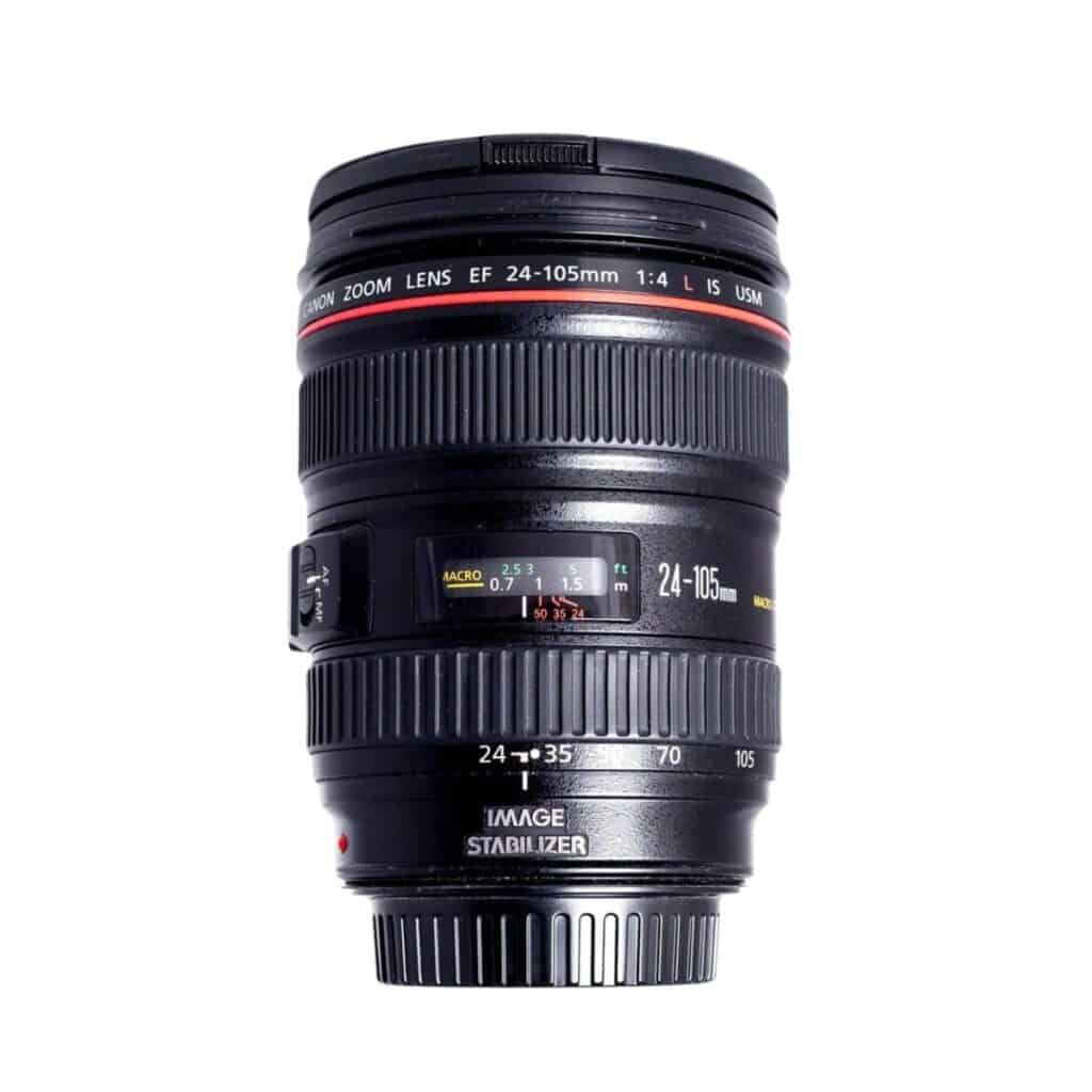 Canon 24mm to 105mm USM zoom lens.