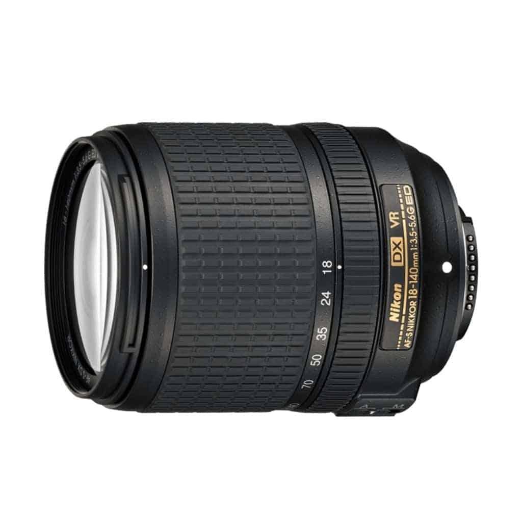 Nikon 18mm to 140mm lens.