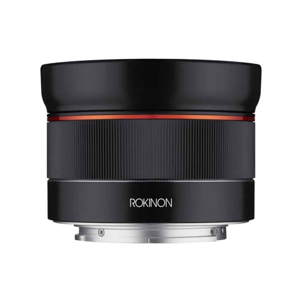 Rokinon 24mm lens for Sony.