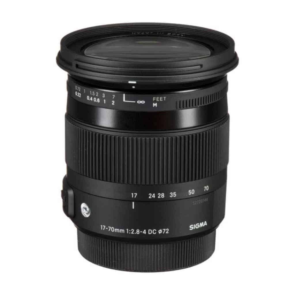 Sigma 17mm to 70mm zoom lens.