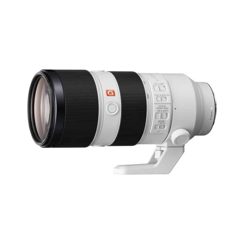 Sony 70mm to 200mm zoom lens.