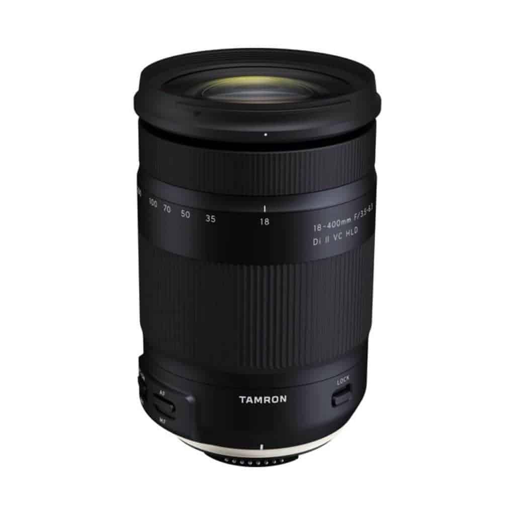Tamron 18mm to 400mm lens.