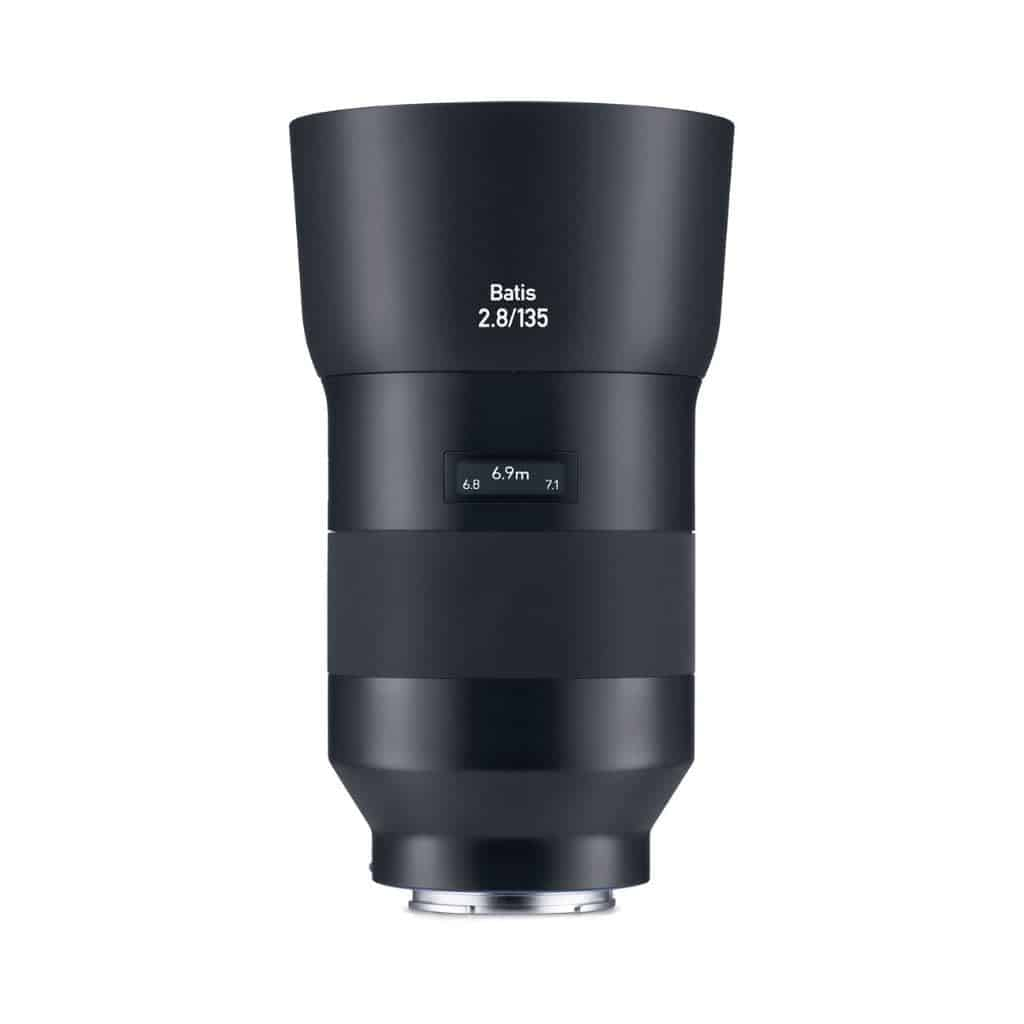 Zeiss Batis 135mm lens.